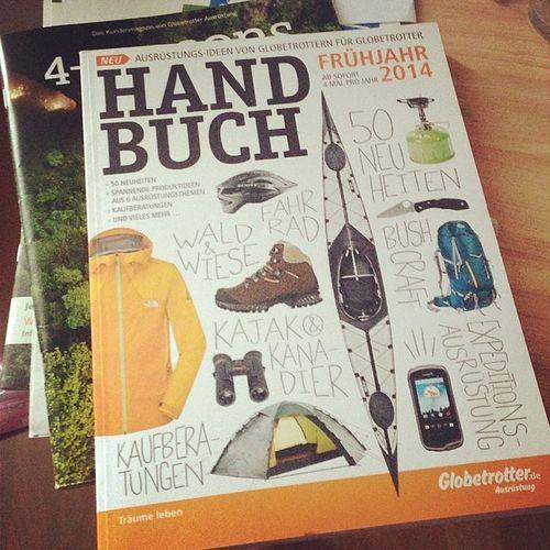 Ich mag das neue Design vom Handbuch. Jetzt brauche ich nur noch unmengen von Geld ... Outdoor Globetrotter Handbuch