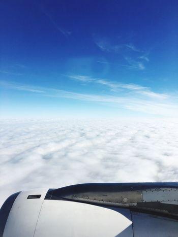 Airplane Sky Travel Flying Cloud - Sky