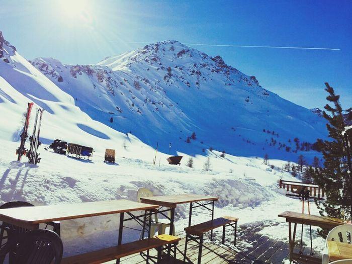 Refuge Col D'izoard Mountain View Ski Serre Chevalier
