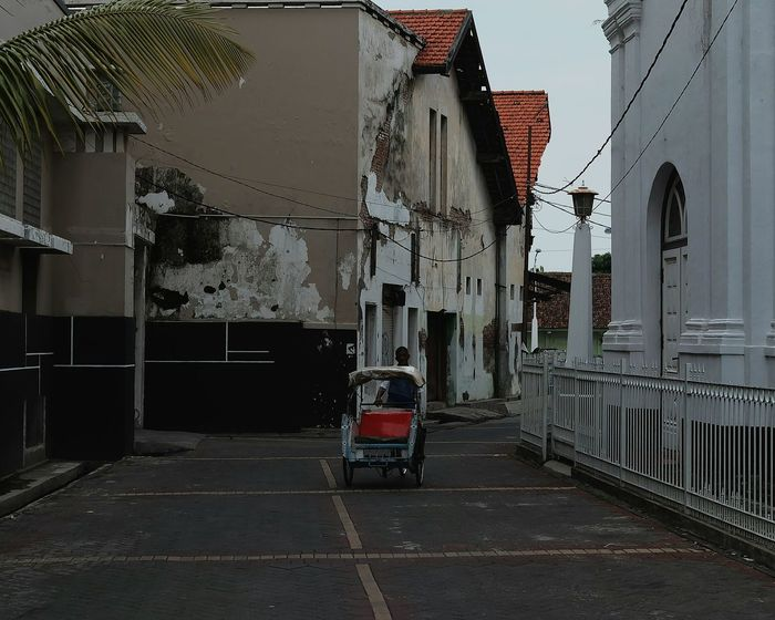 Architecture Built Structure Outdoors Building Exterior Day City Becak Semarang