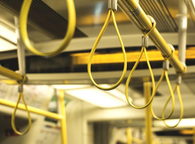 London underground - circle line detail #City #EyeEm #INDOOR #Lowlight #Metro #OMG #Oysters #Uk #display #geometry #london #londra #olympus #repetition #toplondonphoto #travel #underground #urbanphotography #visitlondon #yellow Close-up Indoors  Metal No People Technology