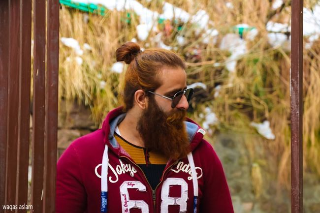 Mid Adult Beard One Person Mid Adult Men Sunglasses Real People Leisure Activity Casual Clothing Focus On Foreground Lifestyles Front View Headshot Day Outdoors Young Adult One Man Only Only Men Tree Adults Only Adult Murree, Pakistan