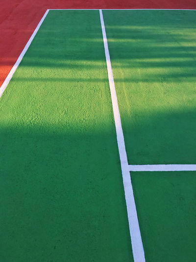 Tennis court close up Competitive Sport Day Grass Green Color No People Outdoors Playing Field Sport Tennis Tennis Court