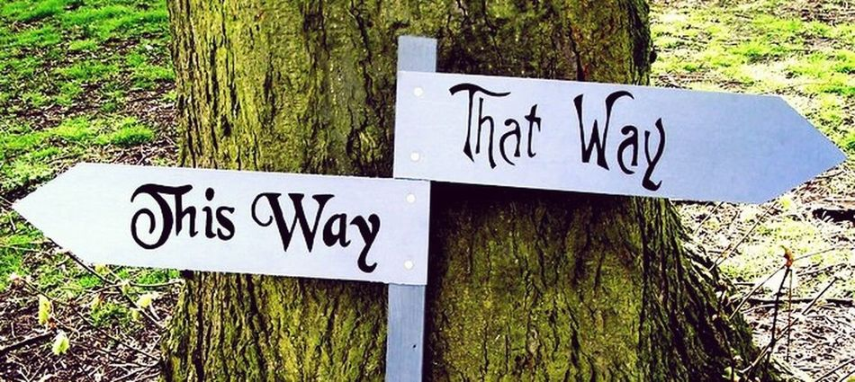 Alice in wonderland inspired sign Alice In Wonderland Timburton Sign Whimsical World Thiswaythatway Thisway Thatway
