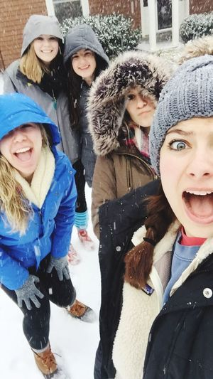 Snow Freezing Cold Cavalanche