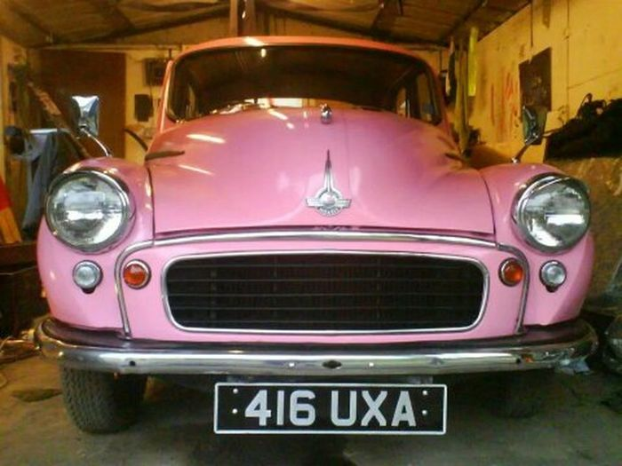 Took me 2 years .. Lol Pink Morris Minor 1000 Restoration Classic Car No Filters Or Effects Morris Minor Old But Awesome Repainted Classic Cars Like ? ❤ For My Friends That Connect Pink Pink Pink! Tales From A Parallel Universe Tales From The Underground Car Porn Motorcars 1100cc Classic Elegance Morrisminor Classic British Cars No Filter, No Edit, Just Photography The Drive