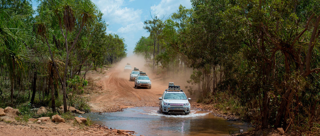 Australia Expedition Land Rover Car Dirt Dirt Road Land Vehicle Motor Vehicle Nature Offroad on the move Overlanding Road Tree The Traveler - 2018 EyeEm Awards
