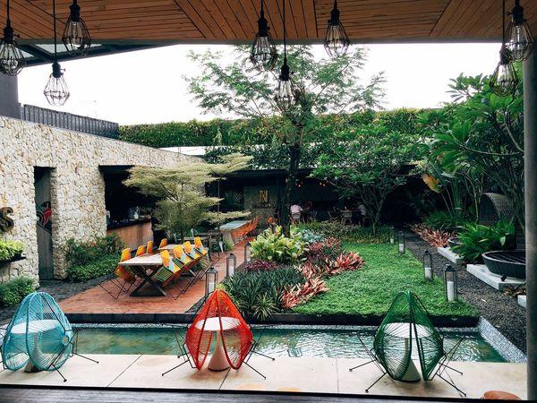 Colorful Secretgarden Gardenparty Lemongrass Green
