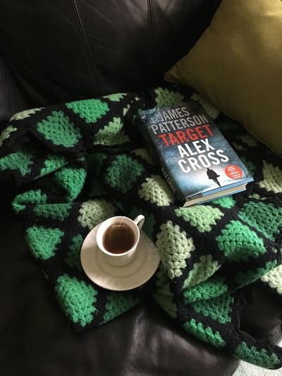 Good book and cup of tea on rainy day Rainy Day Book Cup Of Tea..  Cup Mug Green Color Food And Drink High Angle View Indoors  Coffee Cup Still Life Hot Drink No People Close-up