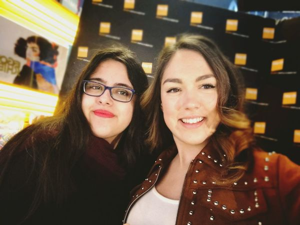 Young Women Friendship Selfie Photography Themes Portrait Smiling Photo Messaging Eyeglasses  Happiness Women