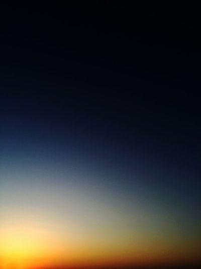 Sunset Sea Colorful Sky 夕陽は映さないよ あえてだよ ♡