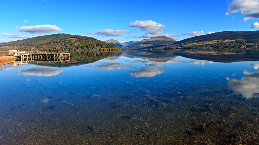Loch Fyne from Inveraray Beauty In Nature Inveraray Lake Loch Fyne Lochs Nature Scenics Scotland Tranquil Scene Water