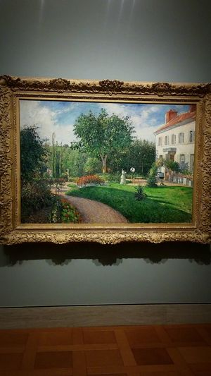 Pizarro Painting Arts Culture And Entertainment Art Gallery Art Museum Impressionism EyeEm Best Shots Irwin Collection