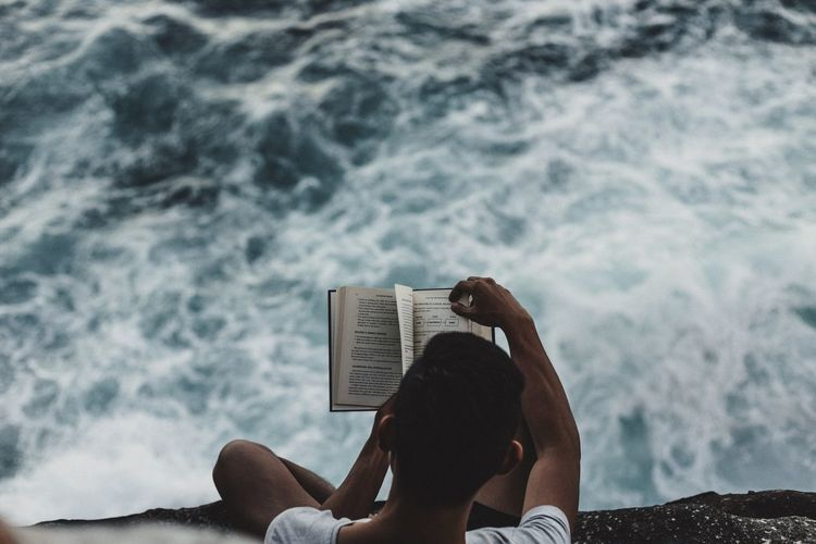 Adrenaline Book Calm Chaos Clouds Dangerous Male Ocean Ocean View Ocean Views Reading Satellite View Scary Sea Sitting Storm Storm Cloud Waves
