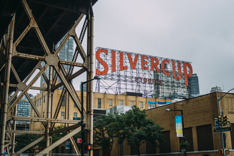 New York Queens Silvercup Studios Architecture Building Building Exterior Built Structure Long Island Outdoors