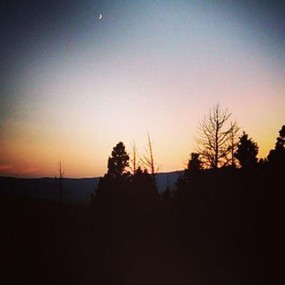 Sunset MtHelena Montana Hiking thegoodlife photography