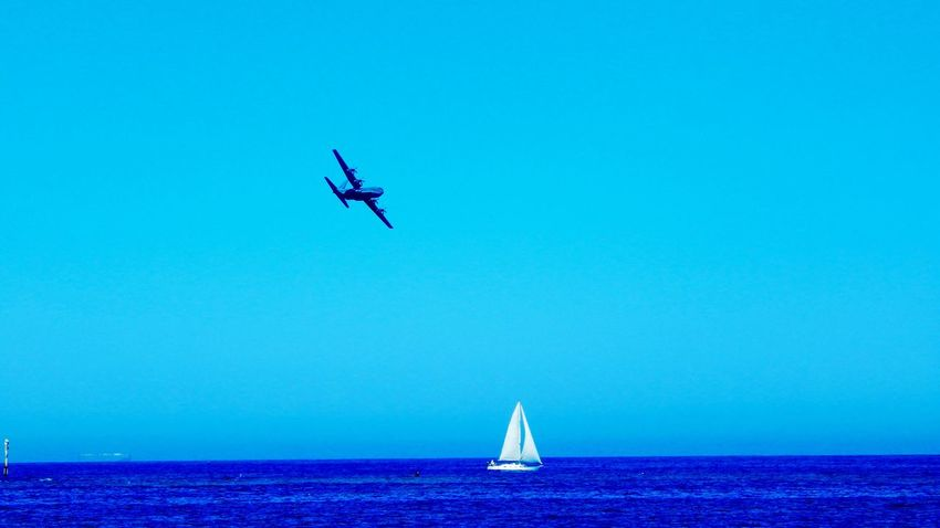 Showcase March Blue Sky Blue Ocean Yachting Beauty & The Beast Army Aircraft First Eyeem Photo Showcase March. FirstEyeEmPic