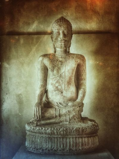 Lopburi Thailand Art And Craft Sculpture Statue Buddha Tranquility Museum Ancient Ancient Civilization Ancient History
