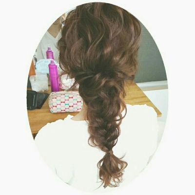 hair ヘアセット ヘアーアレンジ 波ウェーブ 大人かわいい アレンジ おしゃれ First Eyeem Photo