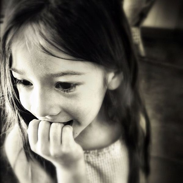 The Little Lorelai at the candy store. Blackandwhite Children Mcallen People