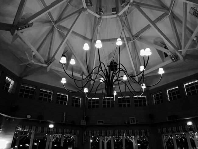 L'embarcadère EyeEm Gallery EyeEm The Week on EyeEm Center Parcs L'embarcadère Light And Shadow Blackandwhite Lighting Equipment Ceiling Indoors  Low Angle View Illuminated Built Structure Hanging No People Architecture Night