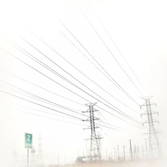 World War Z. . . Misty Morning Misty Mornings Misty Landscape Electricity Pylon Technology Electricity  Cable Power Line  Sky Telephone Line Telephone Pole Parallel Electrical Component Power Supply Steel Cable Power Cable Wire Foggy Fuel And Power Generation