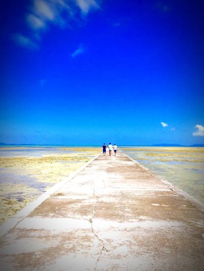 Okinawa Yaeyama Kuroshima Iko Life Frends Way Sky Sea Iphone6