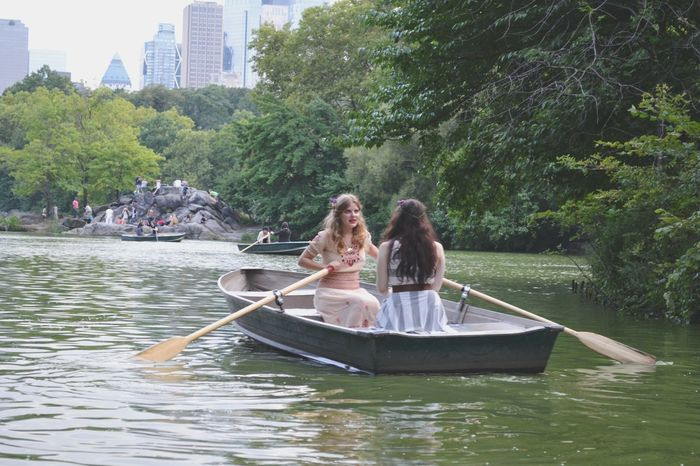 Capturing Freedom Deceptively Simple CentralPark Boat Girls Lake Nature Central Park Romantic People Female Community