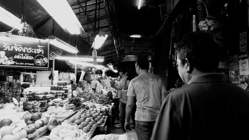 Market has it all- Morning Market @ Hat Yai, Thailand (November, 2017) Market Food Market Stall Variation Outdoors Hatyai,Thailand Hatyai Songkhla Black And White Friday Be. Ready. EyeEmNewHere