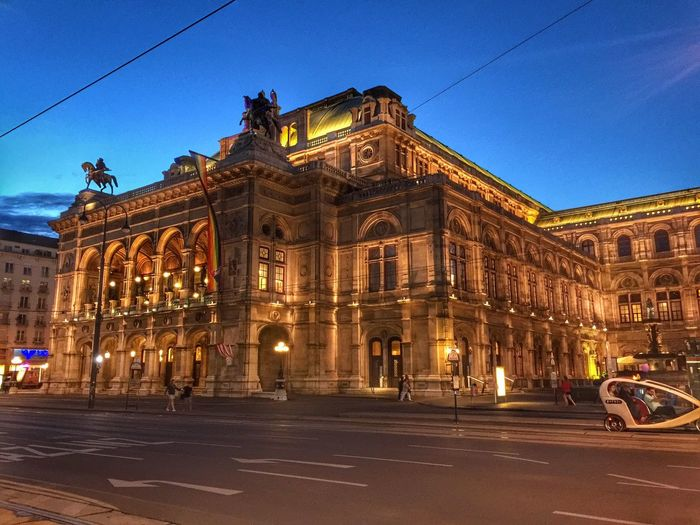 Vienna Oper Operahouse Opéra Wien Austria HDR Beautiful Taking Photos