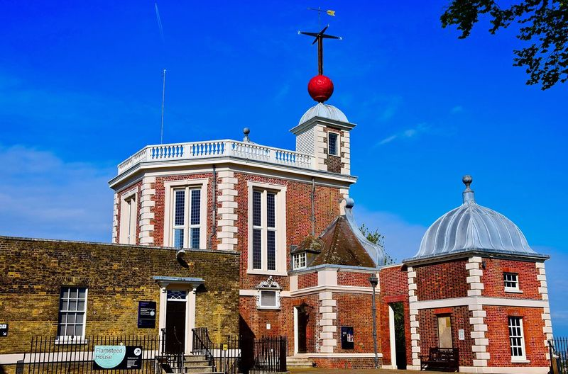 Greenwich Park (Observatory) - London. Greenwich Greenwich Park London Observation Point Observatory Architecture Blue Building Exterior Built Structure Clock Clock Face Clock Tower Day Greenwich Village No People Outdoors Sky