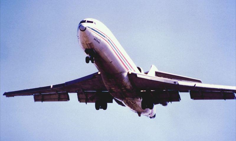 Aircraft Airplane Plane Boeing 727