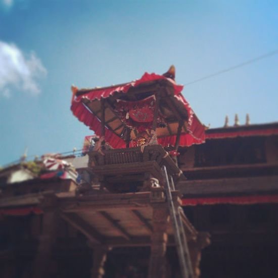 IndraJatra Ktm Basantapur GodOfRain Indra Tied Festivals Religion Awesome