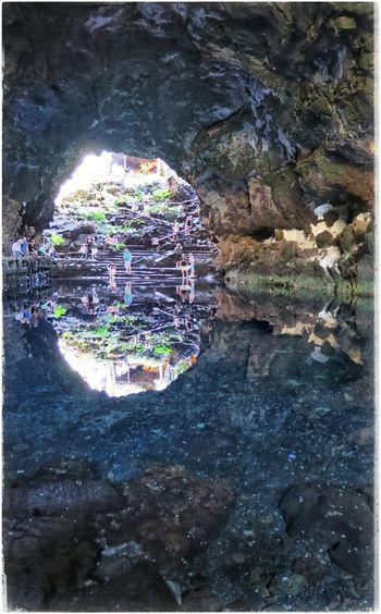 Jameosdelagua Lanzarote Latergram Reflection_collection Grotte Grotto Grottocanyon Crabs
