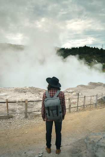 Sikidang crater, dieng - central java