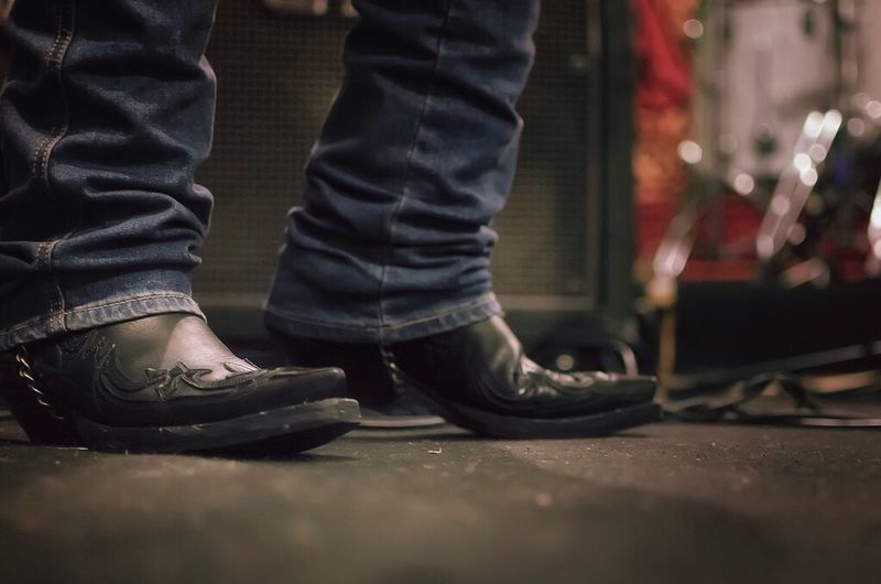 Rock n'roll attitude... What Does Music Look Like To You? Rock Boots SPAIN