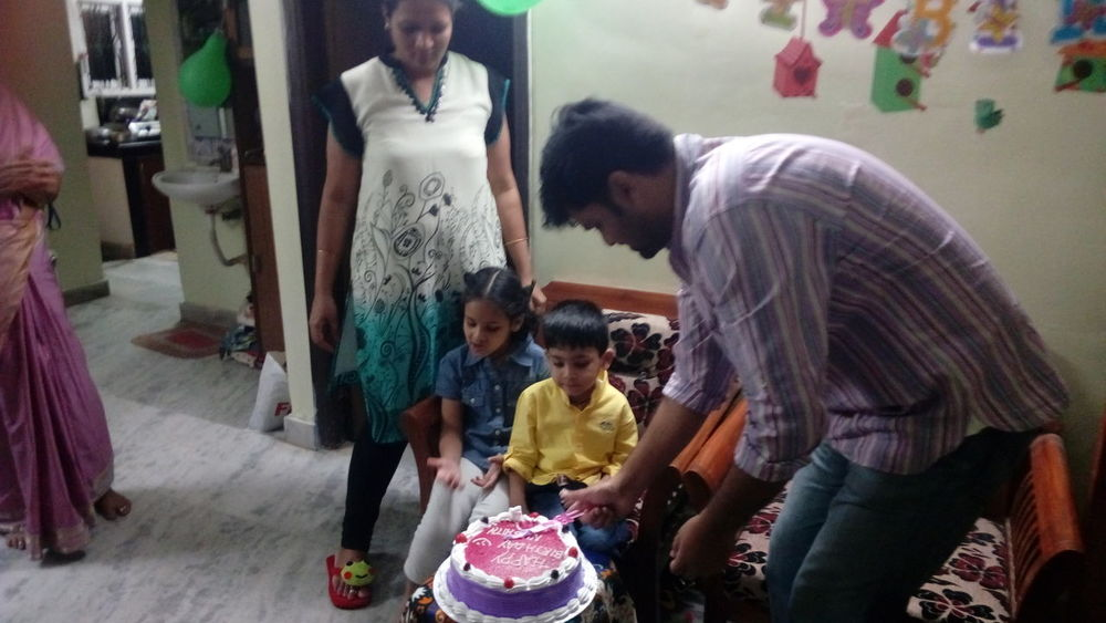 Birthday Celebration My Grandson 22/2/2017. 3 Years with Sister❤