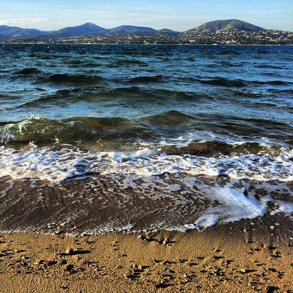 Beach Sainttropez Provence Méditerranée sea sun