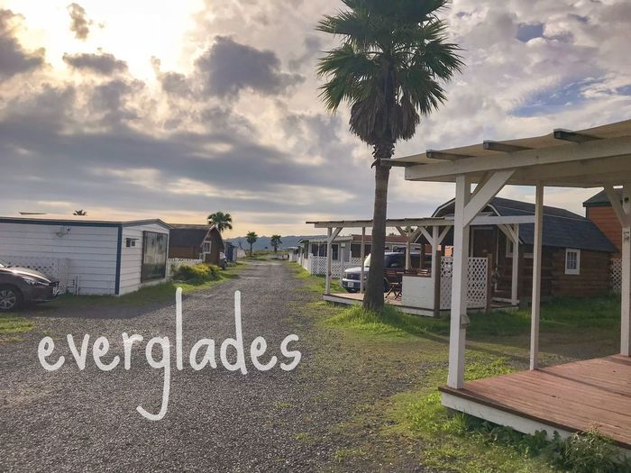 エバーグレイズキャンプ場 Japan Shima Mie Everglades  Camp Cloud - Sky Water Sky Plant Nature Tree Beach No People Outdoors
