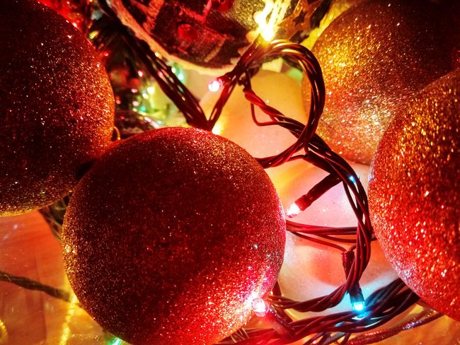 !!! Merry Christmas !!! Christmastime Christmas Decoration Christmas Lights Loghts Red No People Illumination Illuminated Indoors  Close-up Night