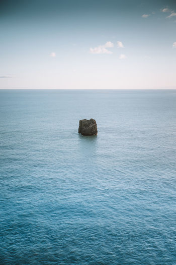 Find more travel inspiration at http://www.instagram.com/simonmigaj Nature Travel View Wave Beauty Blue Coast Landscape Landscape_photography Minimal Minimalism Ocean Rock - Object Seascape Simple Simplicity Water Waves Visual Creativity