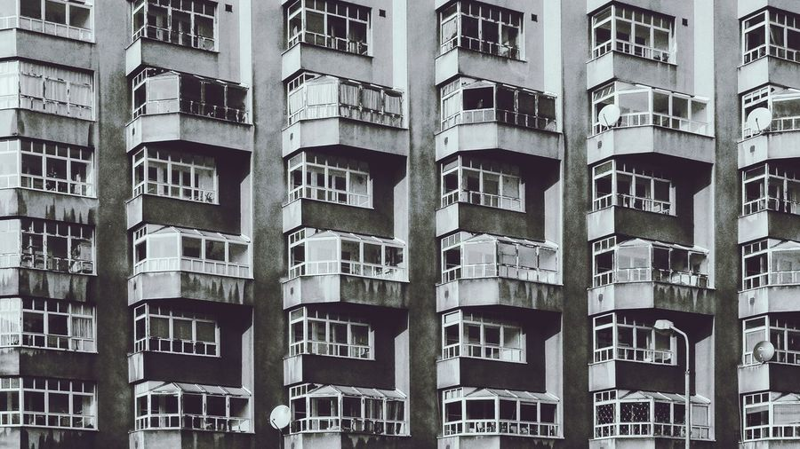 Architecture Residential Building Conformity Outdoors City Plattenbau No People Community Vienna Apartment Day Building Exterior Full Frame Built Structure
