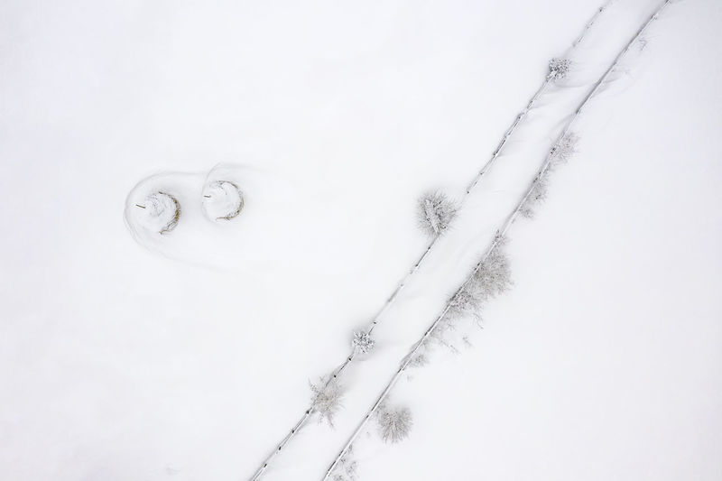 Winter landscape, aerial view. Romanian rural landscape view from drone. White Background White Color Nature Architecture Drone  Dronephotography Landscape Winter Landscape Rural Landscape Nature Sky Fresh Snow Romania Winter Abstract Abstract Abstract Photography Monochrome monochrome photography Monocromatic Water Minimalist Minimalist Photography