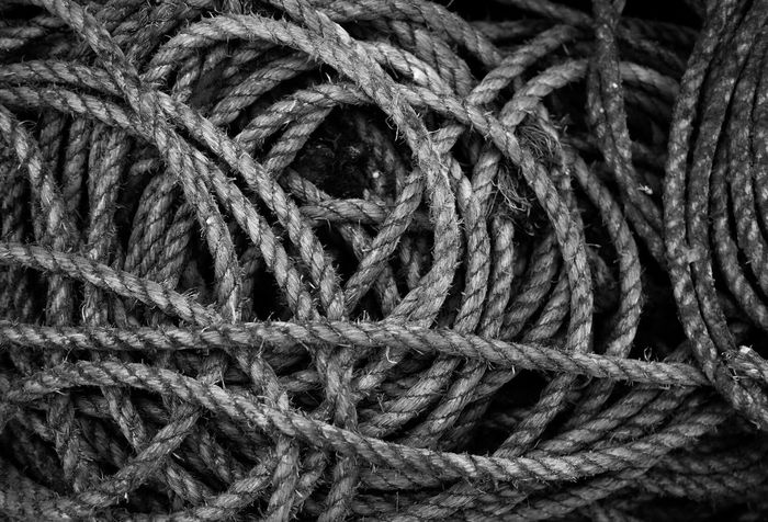 Rope Coiled Rope Fishing Harbour Harbourside Streetphotography Fine Art Photography Blackandwhite Black And White Bnw Monochrome Monoart Pittenweem Fife  Scotland Monochrome Photography
