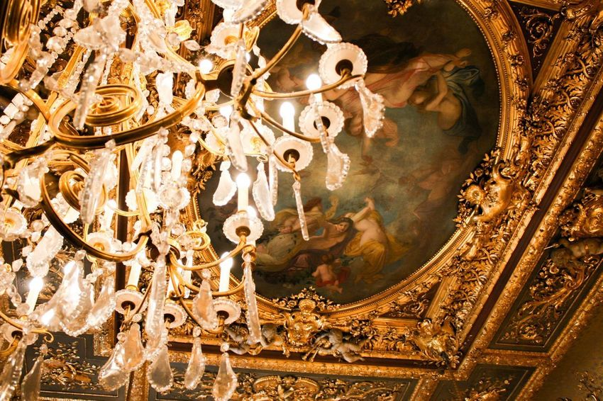 Swinging from the chandelier EyeEmNewHere No People Art And Craft Decoration Architecture Pattern Nature Craft Indoors  Creativity Arts Culture And Entertainment Illuminated Travel Destinations Ornate