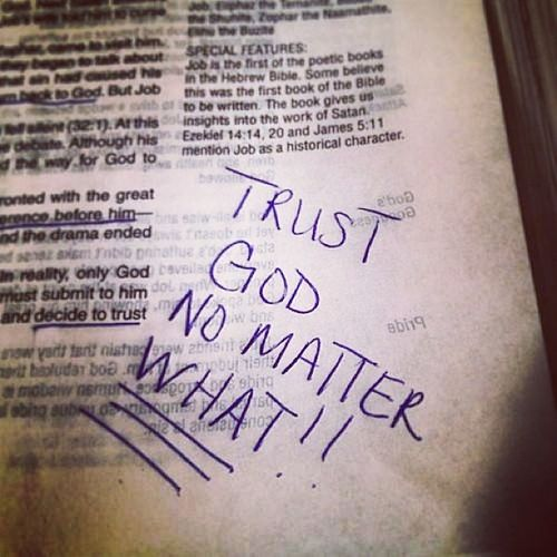 Trust will get you through and Faith will take you far ??❤ Trustingod TrustInTheLord Nofear FearNot Fearless DontFret FretNot Faith Faithful KeepTheFaith FaithfulFriday