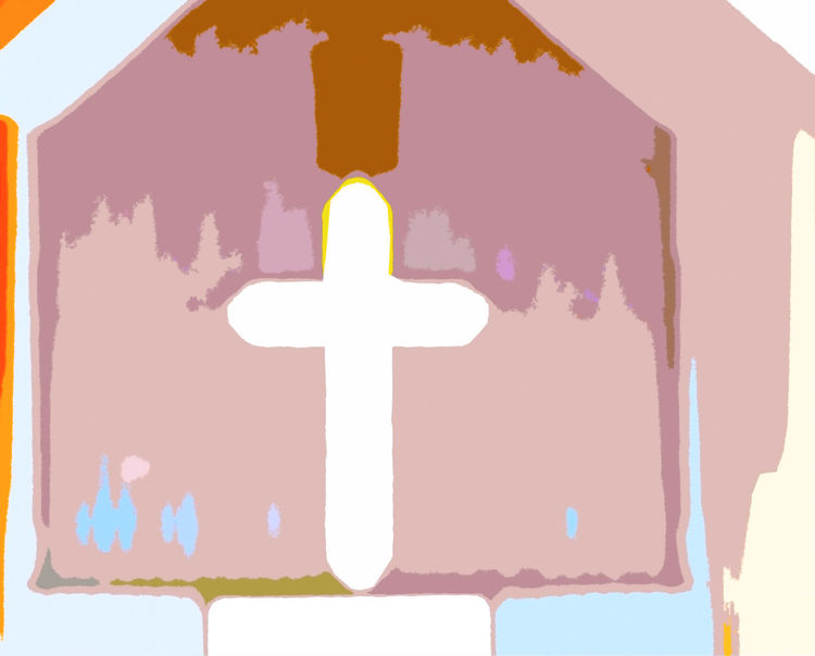 Digital photo illustration of cross in a church Biblical  Chapel Christian Church Church And State Church Cross Cross God Holiday Jesus Values Wedding Baby Baptism Baptism Bible Biblical Theme Church Art Churches Cross Chapel Cross Church Family Values Holy Religion And Beliefs Religious  Separation Of Church And State