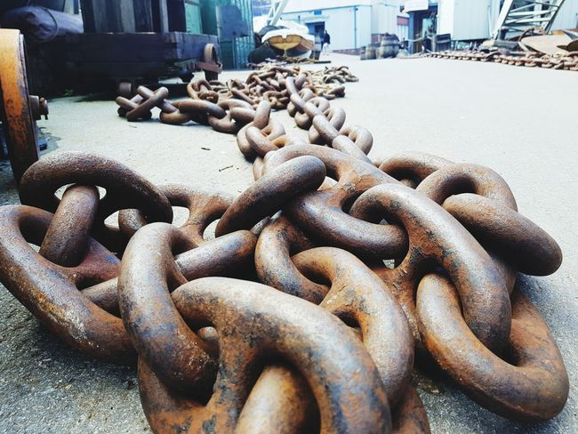 EyeEm Selects Stack Heap Close-up Harbor Commercial Dock Shipyard Dock