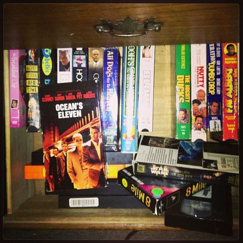 Tonights Oceans Eleven Out Of My VHS MOVIE Collection Boss Classics 90sbaby