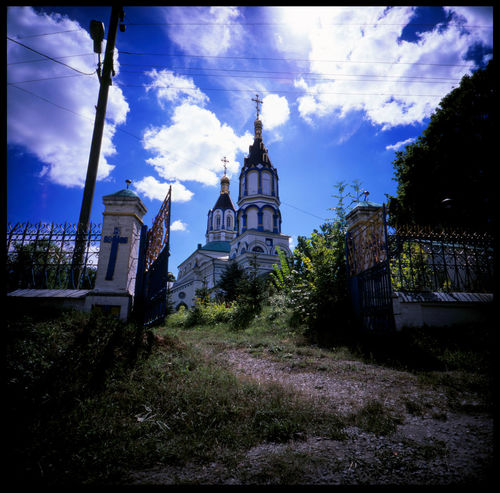 The last church of Chernobyl and the firemen monument Abandonded City Analogue Photography Apocalypse Chernobyl Chernobyl 1986 Chernobyl Catastrophy Chernobyl City Sign Chernobyl Entrance Chernobyl Exclusion Zone Chernobyl Firemen Chernobyl Town Church And Sunlight Firemen Firemen Monument Chernobyl No People Nuclear Blast Nuclear Catastrophy Orthodox Church Outdoors Radiactive Schaclivoi Dorogi Soviet Union Travel Ukraine Warnsigns The Architect - 2017 EyeEm Awards The Photojournalist - 2017 EyeEm Awards